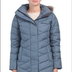 NWT Marmor Verona Long Down Jacket